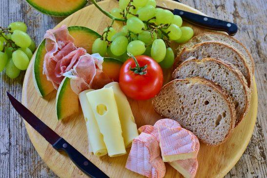 ketogenic diet meal food bread