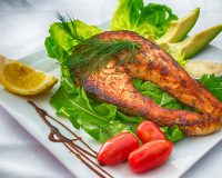 salmon Ketogenic Diet meal food