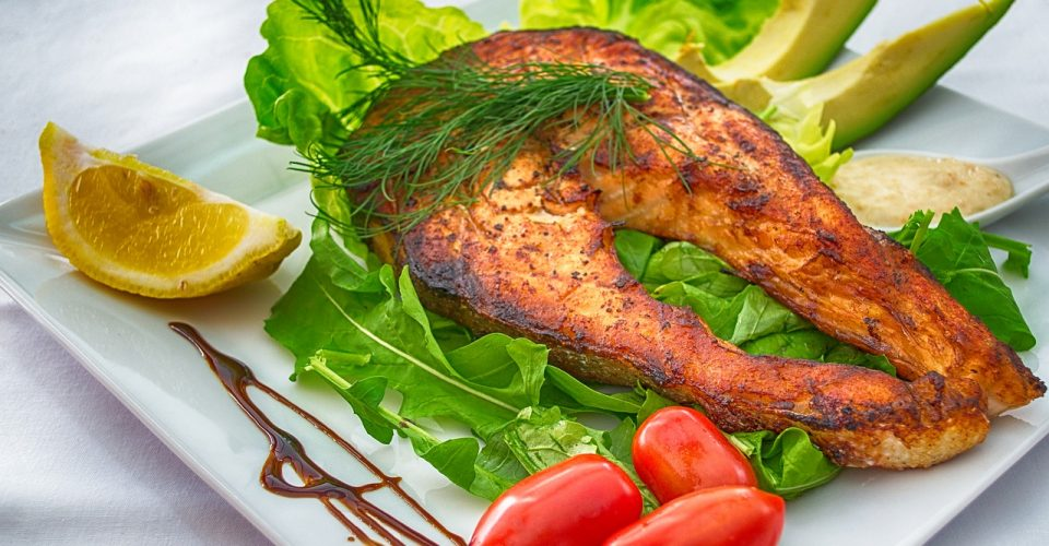 salmon Ketogenic Diet meal food