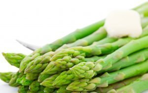 Steamed Asparagus With Butter