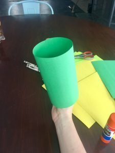 Saint Patrick's Day Construction Paper Hat